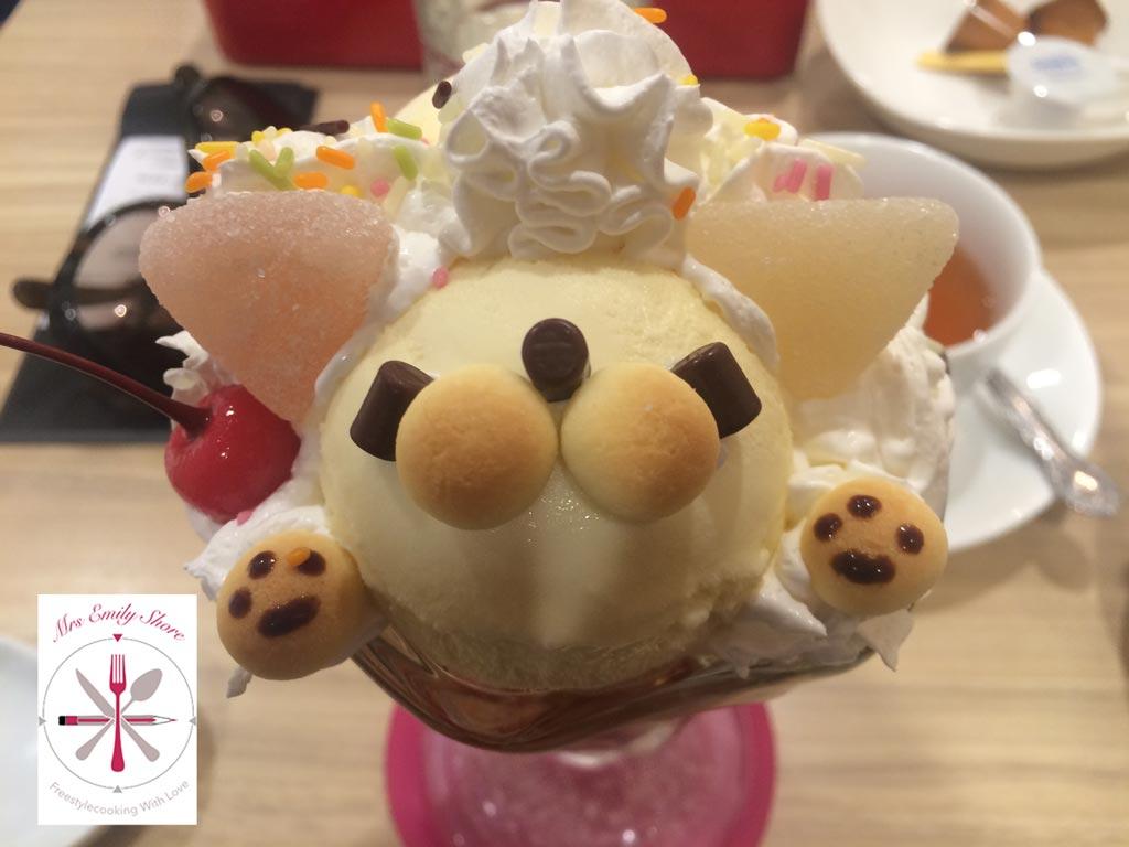 MAiddreamin, Shinjuku, Bärchen, Bärcheneis, Bär, Eis, Manga, Mangastyle, Verkleidet, Männercafe, Cafe, café, Eiscreme, sweet, kawaii