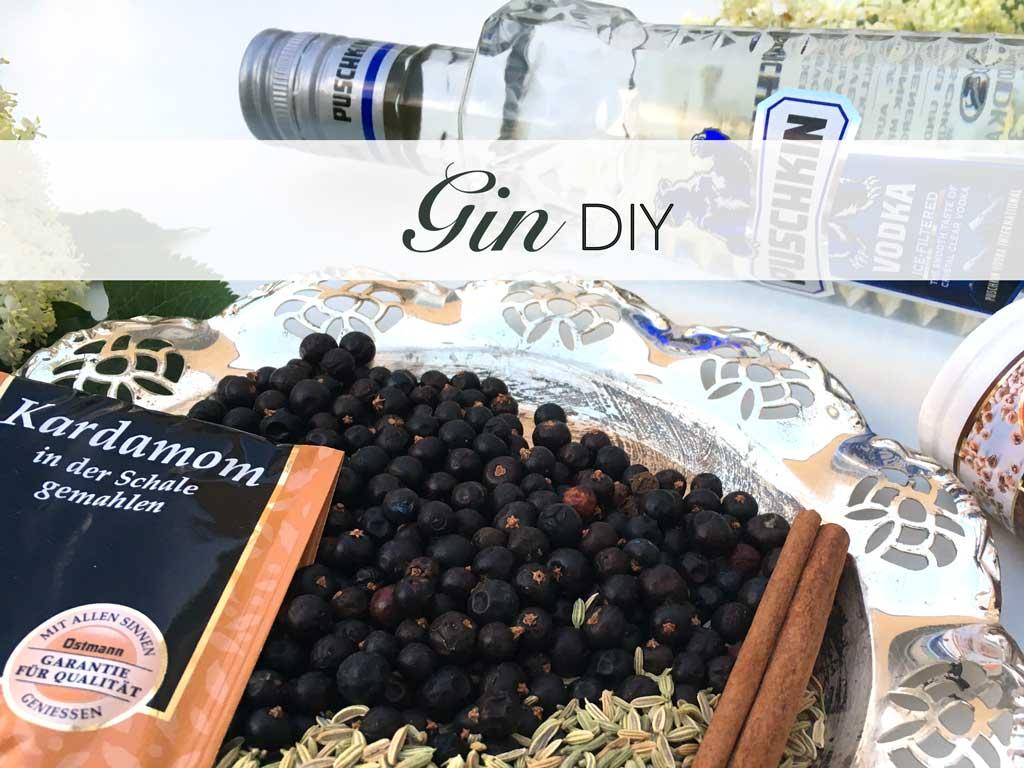 Gin, DIY, Gepunscht, Do, it, Yourself, selbermachen, ohne, Brennen, Wachholderbeeren, Zimt, Kardamom, Fenchelsamen, Vodka, Puschkin