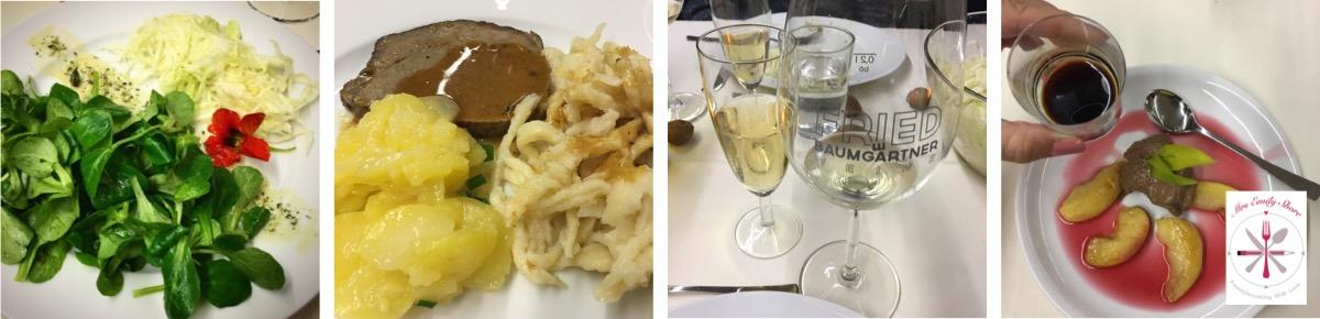 Foodblogger Hocketse Ludwigsburg Ernährungszentrum Stuttgart Kartoffelsalat Spätzle Spätzles schaben Maultaschen kochen