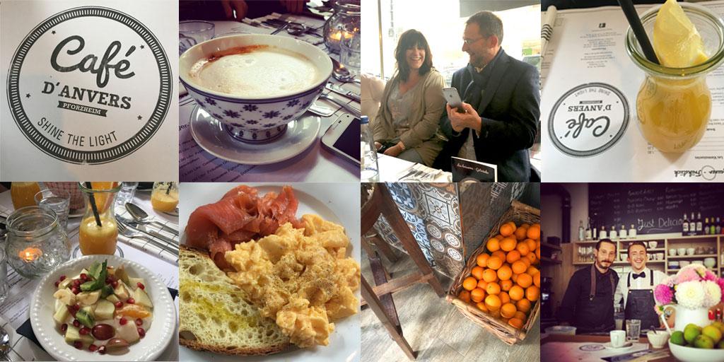 Bloggertreffen, Blogger, Pforzheim, Cafe, D'anvers, Cafedanvers