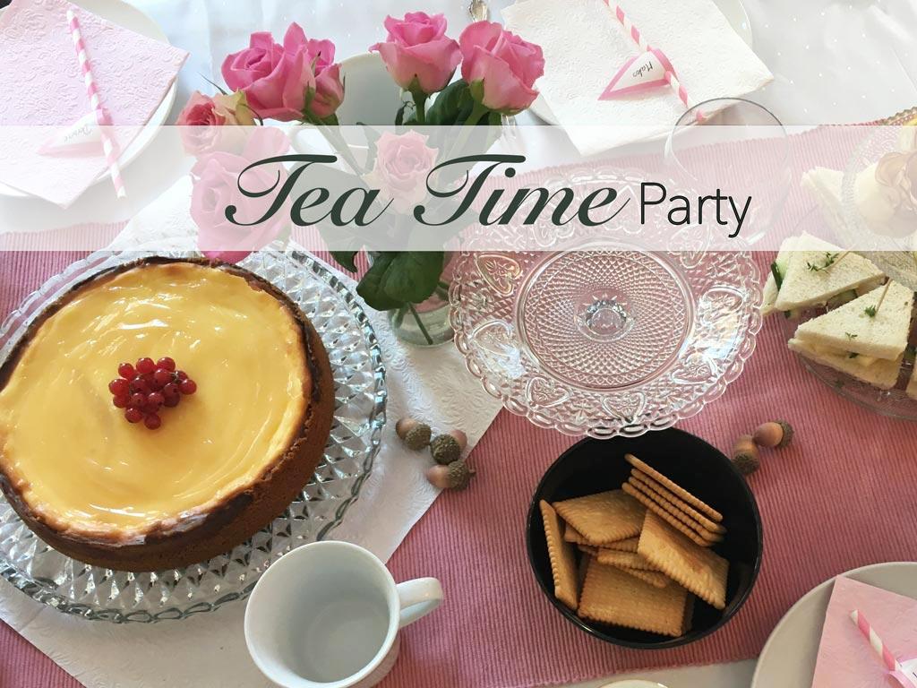 Tea, Time, Teatime, Partty, einladen, Einladend, Geburtstagsparty, Teeparty, Kaffe, Kuchen, Torte, Feiern,