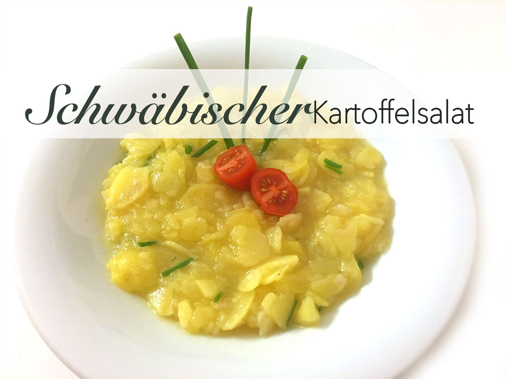 Echter schlotziger schwäbischer Kartoffelsalat? Easy!