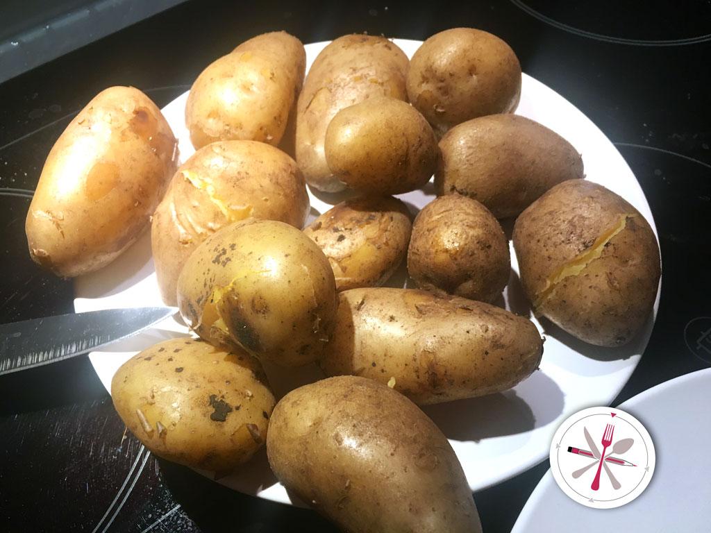 schwäbischer, Kartoffelsalat, Kartoffel, Kartoffel, Schlotze, Schwätze, Essig, Öl, Geheimnis, Heilig, Abend