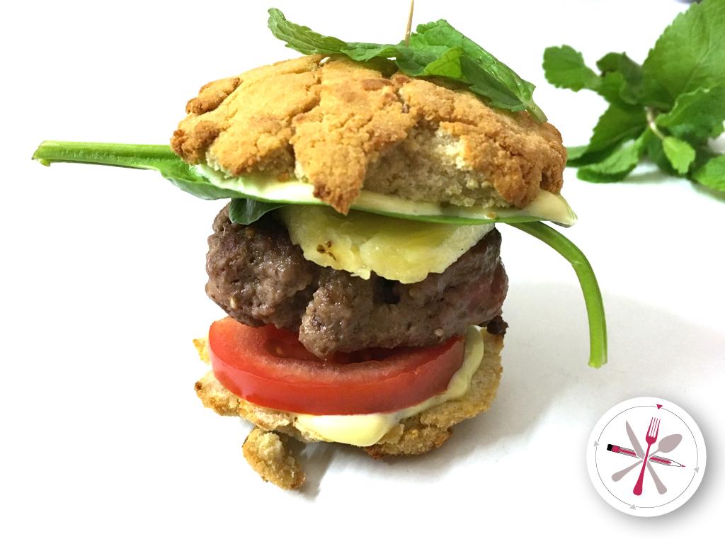 Miniburger, Burger, Paleo, Lowcarb, Glutenfrei, Laktosefrei, Anans, Minze, Fingerfood, Partyfood