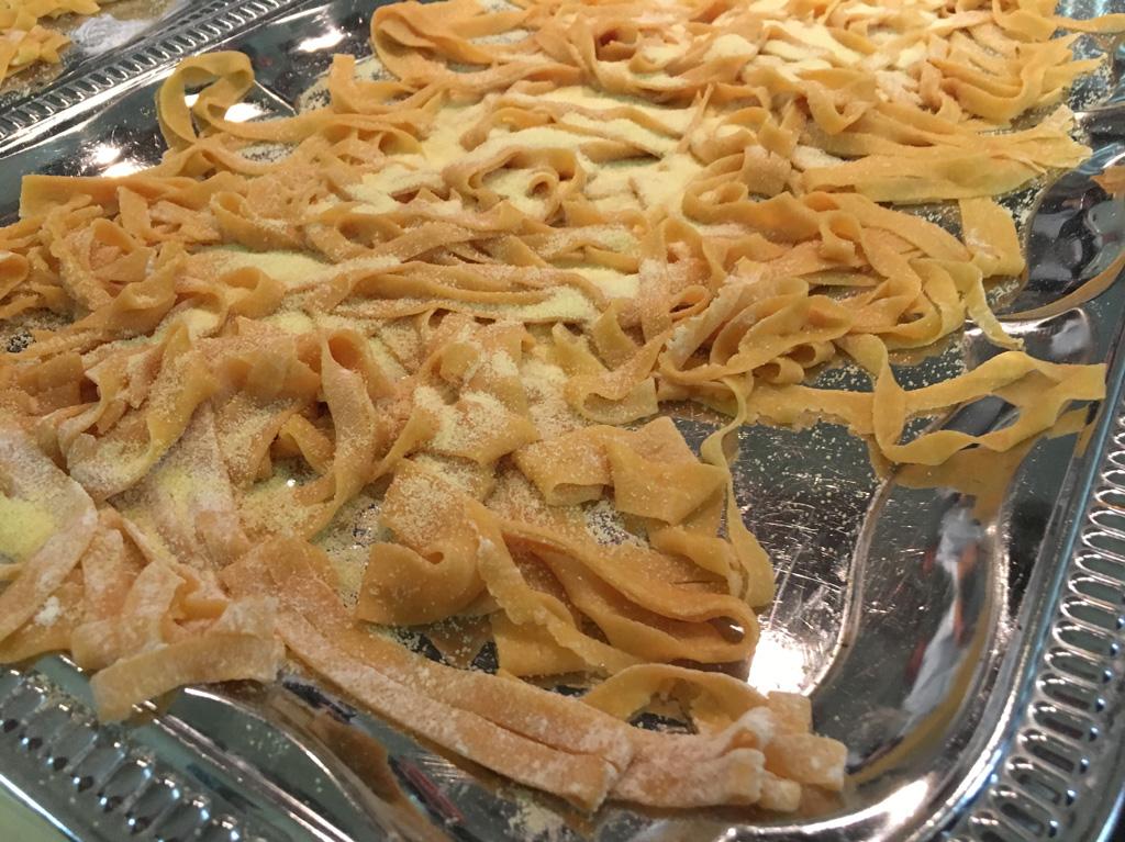 Homemade Pasta Besuch eines Pastakurs