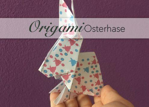 Origamihase, basteln, diy, origami, pattern