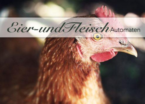 Eierautomat Eieromat Eierprodukte in Ingolstadt und ein Fleischautomat