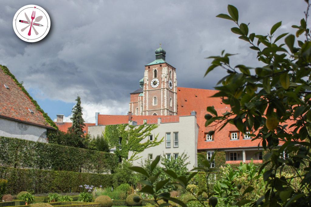Ingolstadt, Münster, Ingolstädter, Kirche, Dom, Blick, auf, die, Stadt, Bayern, Medizin, Museum
