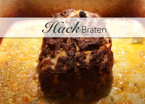 Easy Hackbraten - how to