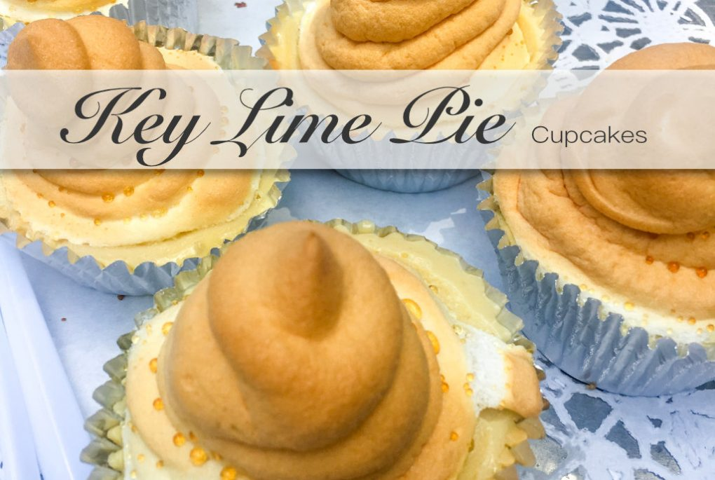 Key Lime Pie als Cupcakes